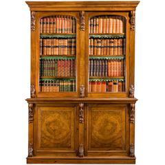Mid-19th Century Walnut Bookcase