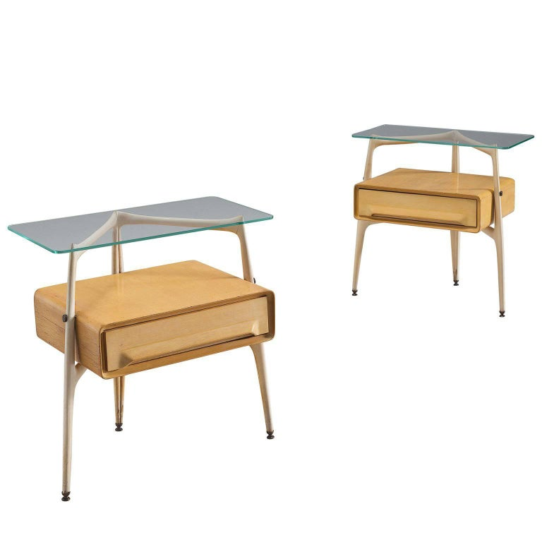 Silvio Cavatorta Side Tables, circa 1955