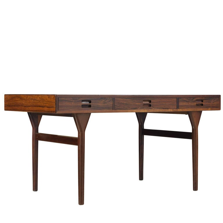 Nanna Ditzel Three-Drawer Desk in Rosewood
