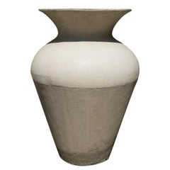 Tall Cement Vases