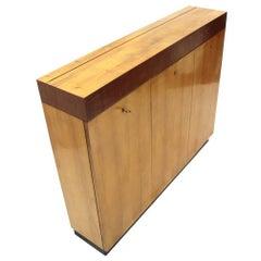 Italian Modernist Wooden Sideboard, 1940s