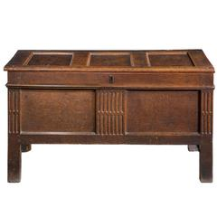 Early 18th Century Paneled Kist