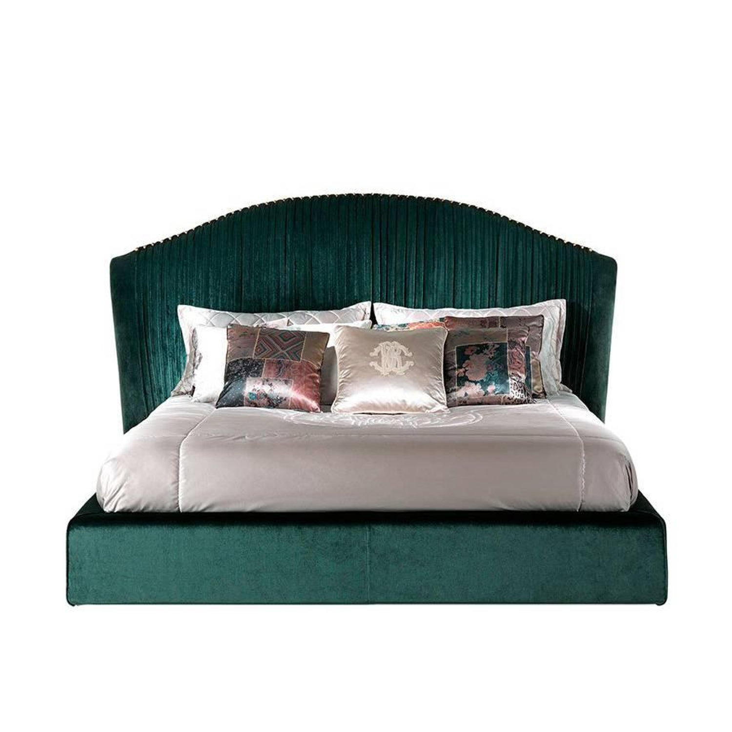 Roberto Cavalli Iconic Collection Smoking Bed In Sand For Sale