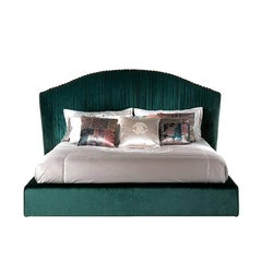 Roberto Cavalli Iconic Collection Sharpei Bed in Green