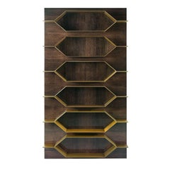 Roberto Cavalli Iconic Collection Bee Modular Bookcase