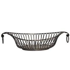 Regency Sheffield Silver Plate Bread Basket, England, circa 1820