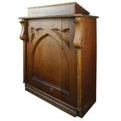 Gothic Carved Oak Lectern