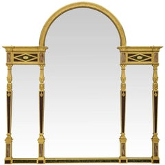 Continental Mid-19th Century Neoclassical Style Three-Panel Mirror