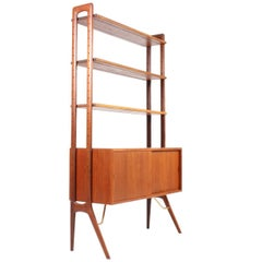 Bookcase in Teak by Kurt Østervig