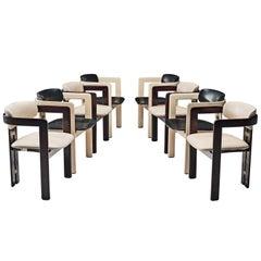 Augosto Savini Set of Eight 'Pamplona' Chairs