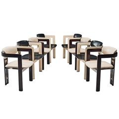 Augosto Savini Set of Eight 'Pamplona' Chairs