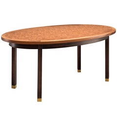 Gorm Lindum Architectural Oval Table