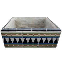 Hand Tiled Argentinian Planter