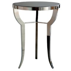 Pompeii Cocktail Table with Inset Natural Stone Top by Powell & Bonnell