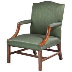 George III Period Gainsborough Chair