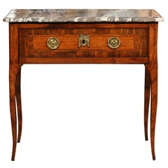 18th Century French Transitional Louis XV/XVI Commode en Console