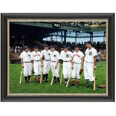 1937 American League's All-Star Players, after American Realist Photo