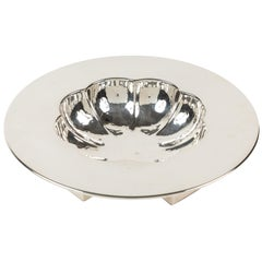 Silver-Plated Scalloped Nut Dish by Michael Graves for Swid Powell