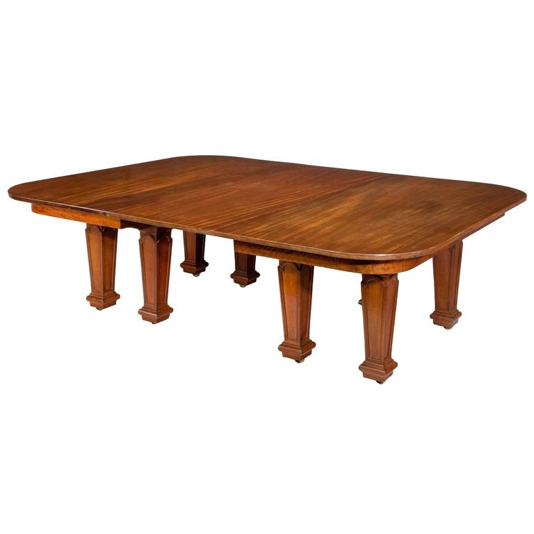 Century Dining Room Tables 19th century dining tableholland and sons for sale at 1stdibs