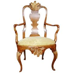 18th Century Rococo Chair