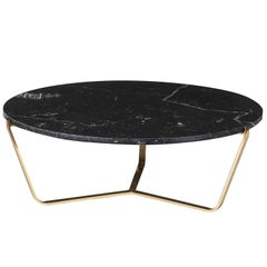 Dolomiti Marquina Marble Low Coffee Table