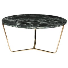 Dolomiti Green Alps Marble Tall Coffee Table