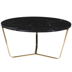 Dolomiti Marquina Marble Tall Coffee Table