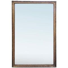 19th Century Louis XVI Style Giltwood Mirror