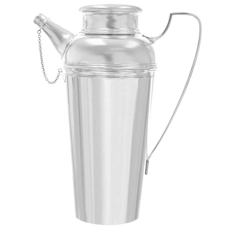 Art Deco Tiffany & Co. Sterling Cocktail Shaker