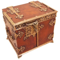 Antique 19th Century Cigar Humidor Box