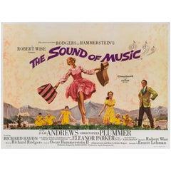 """The Sound of Music"" Original British Movie Poster"