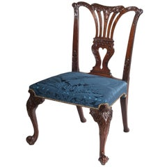 English 18th Century Chippendale Mahogany Chair
