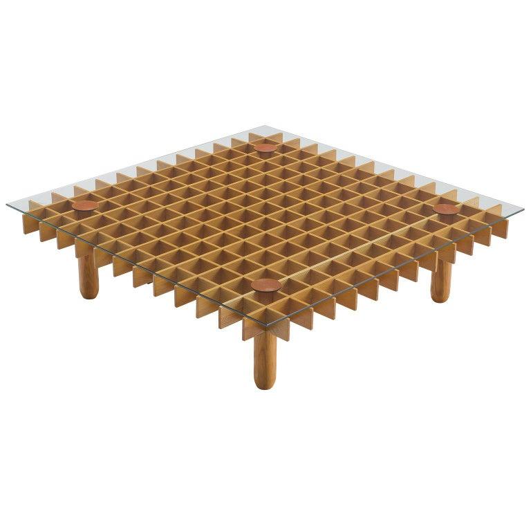 Gianfranco Frattini 'Kyoto' Coffee Table For Sale