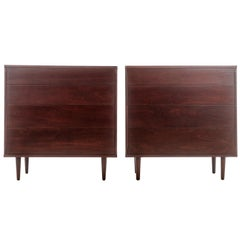 Pair of Dressers by Edward Wormley for Dunbar
