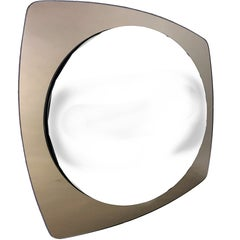 Midcentury Faceted Mirror in Style of Fontana Arte, 1960s, Austria