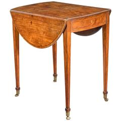 18th Century Kingwood Pembroke Table