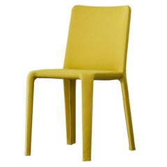 Bonaldo My Time Chair in Mustard Fabric by Dondoli and Pocci