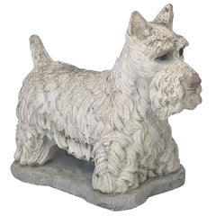 Garden Stone Scottish Terrier or Scottie Dogs, Individually Priced