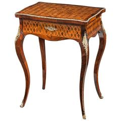 Kingwood Parquetry Ladies Work Table