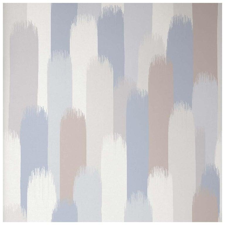 Vale Wallpaper or Custom Mural on Non-Woven Paper in Color Whisper - Beige