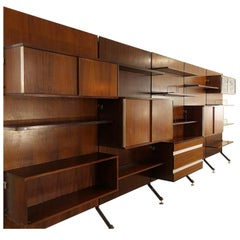 Urio Wall Unit by Ico Parisi for MIM Roma, 1960s, Italy