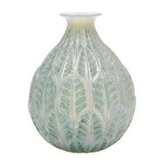 "Vase ""Malesherbes"", Rene Lalique, 1927"