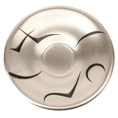Art Deco WMF Silver Plate Bowl or Centrepiece, 1930s Modernist Design