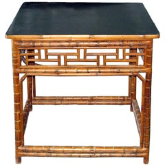 Bamboo Entry Table
