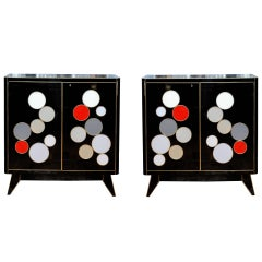 Pair of Vintage Cabinets