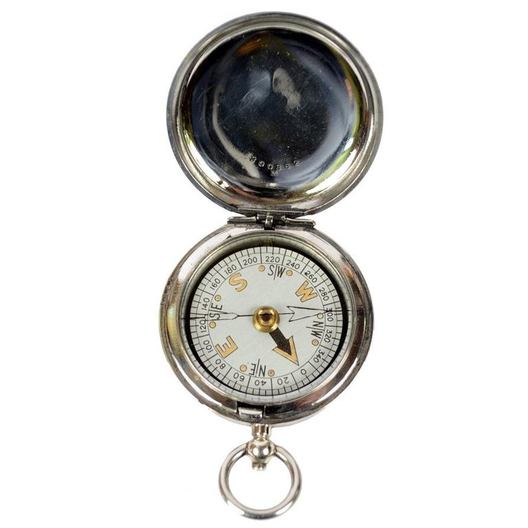 Pocket Compass Used by RAF Officers, 1926