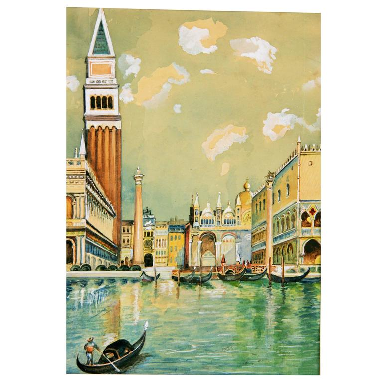 Piazza San Marco Venice Painting