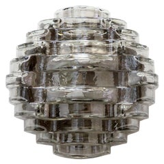 Art Glass Wall Light by Hillebrand