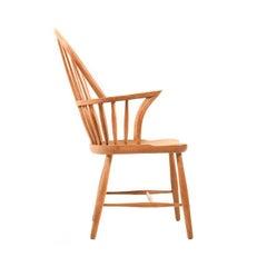 Midcentury Danish Windsor Chair by Frits Henningsen