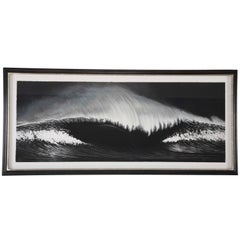 "Robert Longo, ""Wave"" Silkscreen on Paper"